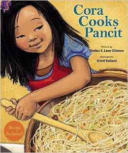 CORA COOKS PANCIT by DORINA K. LAZO GILMORE // Cora is never old enough to participate in the family affair of preparing pancit from scratch. When she finally has to chance to lend a hand she shines in this loving story.