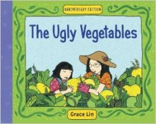 THE UGLY VEGETABLES by GRACE LIN // Grace Lin is a champion for authoring children's and YA novels about the Chinese American experience. This favorite emphasizes the importance of pride and ownership over cultural identity through food.