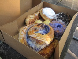 assorted ube delights and malasadas