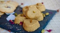 Nan-e Nokhodchi (Chickpea Cookies)